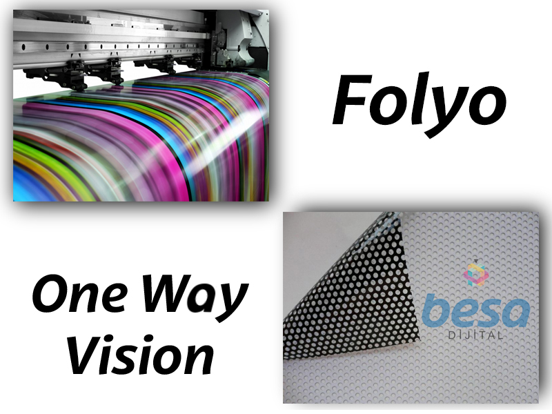 Folyo - One Way Vision Baskı